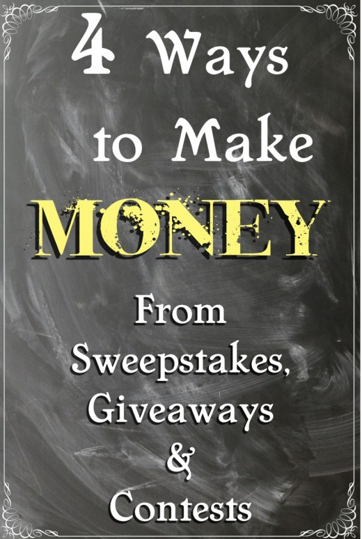 Make Money From Sweepstakes