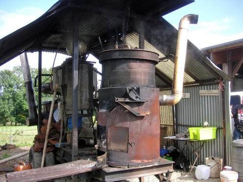 """""""He's tight as Dick's hat band,"""" was a phrase that had its roots around this southern contraption: a moonshine still"""