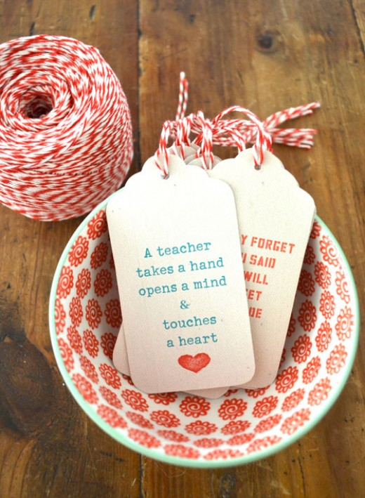 The Artbarblog has some great gift tags just for the teachers on your gift list.