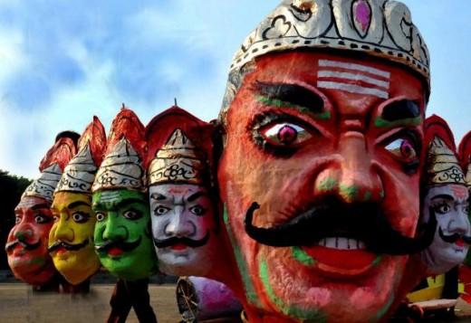 The Demon King Ravana