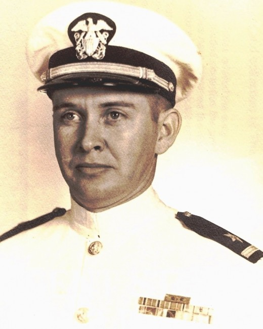 Lieutenant Commander Moore, USN Retired