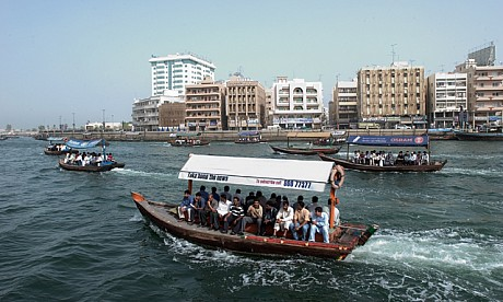 Abara to cross Dubai Creek with 2 dirhams