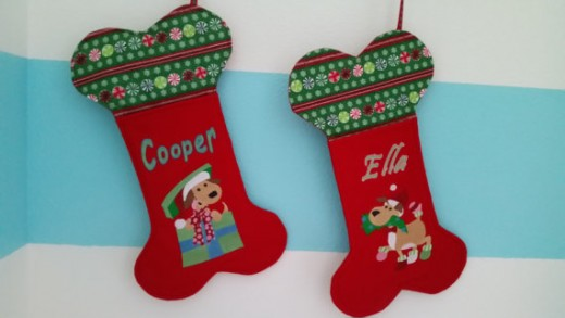 Can't you picture this Christmas stocking hanging with the rest of the family's on Christmas morning?