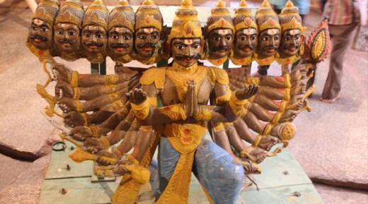 Ravana Temple Kanpur, Uttar Pradesh