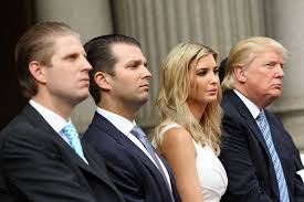 Trumps inner circle- his family