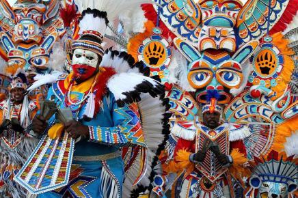 Junkanoo festival in Jamaica