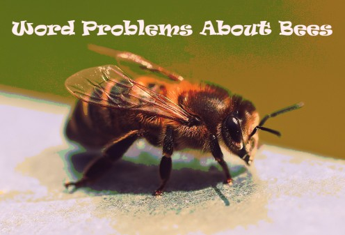 Math Word Problems About Bees