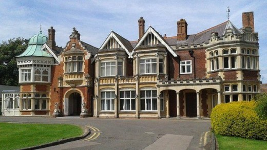 Bletchley Park, Buckinghamshire, code-breaking centre before GCHQ Cheltenham - rumbled Sempill's activities in spying for the Japanese and alerted Downing Street