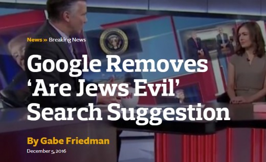"Google also removed suggestions for other offensive search phrases pertaining to women that were brought up Sunday in a Guardian article. The phrase ""are Muslims bad,"" another wording brought up in the article, still appears when a user types in ""are"