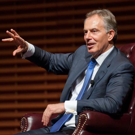 Anti - Brexiteer Tony Blair