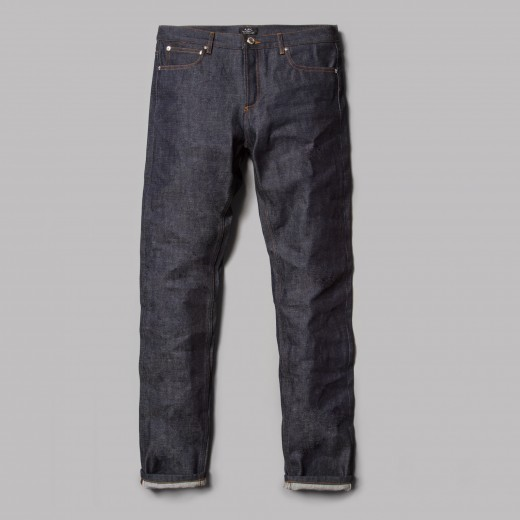 Some jeans from APC, a popular Paris-based brand.