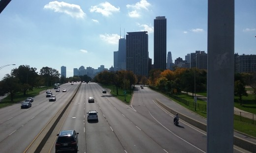 Lake Shore is the ultimate deep street. It goes through 6 of the 10 most prime driving areas in Chicago.