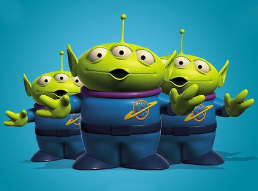 Little Green Aliens from Toy Story (1995).