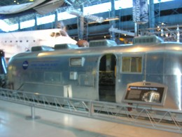 The isolation trailer at the Udvar-Hazy Center, June 2016.