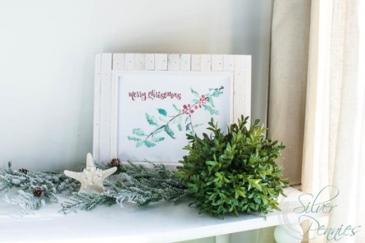 These watercolors are so soft and lovely.  They will bring a soft, sweet holiday feel to any room they are in.