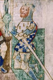 Detail from another work shows Count Alan, Lord of the Honour of Richmond, named after Richemont in Normandy