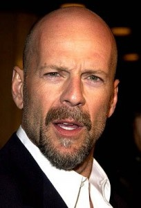Bruce Willis of Die Hard  installments and other hit films