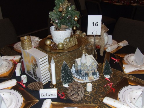 The Noel And Faith Christmas Table
