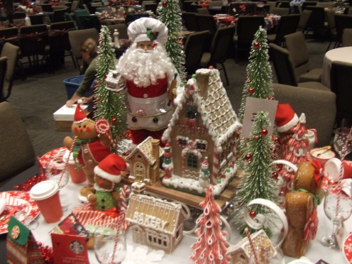 Santa's Gingerbread Table