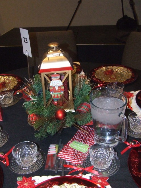 The Nutcracker Christmas Table