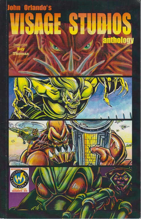 John Orlando's Visage Studios Anthology From Outpouring Comics
