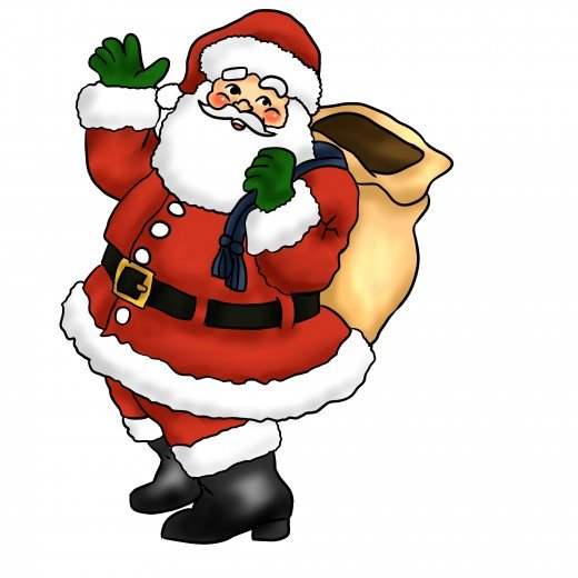 The Old Elf himself, Santa