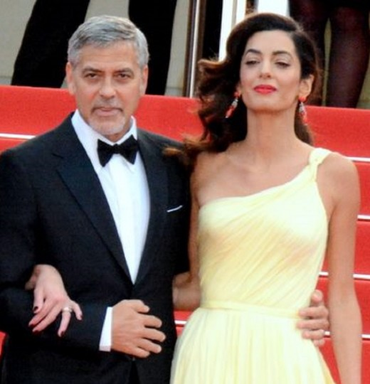 George and Amal Clooney at Cannes Film Festival 2016.