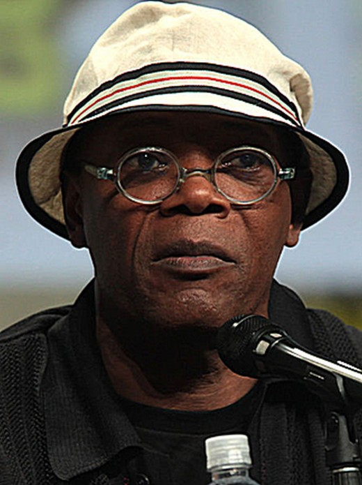 "Samuel L. Jackson accused Trump of running a hate-filled campaign and told Jimmy Kimmel ""If that motherf*cker becomes president I'm moving my black ass to South Africa."" Anyone think he'll keep his word?"