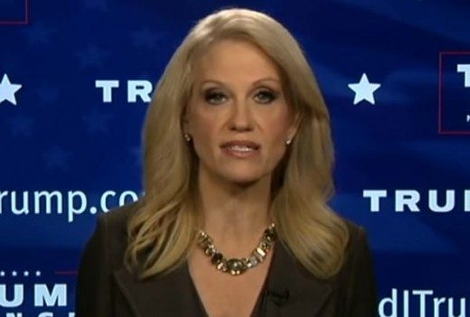 """Kellyanne Conway....defends Donald Trump's decision to remain producer of """"The Apprenctice."""""""