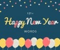 121+ Happy New Year Words