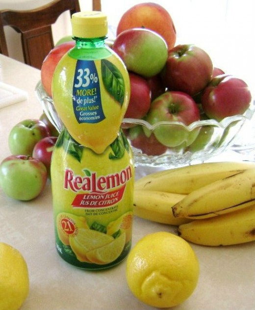 Lemon juice helps liquid to pass more quickly through the body.