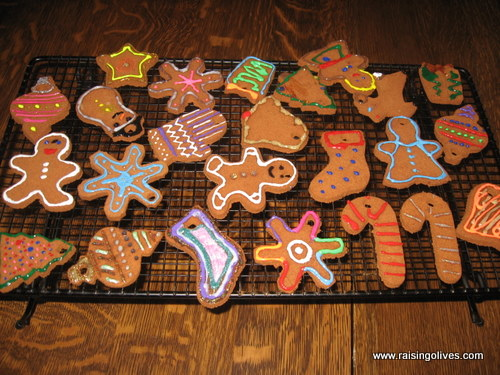 Cookie cutters will help you to make beautiful ornaments