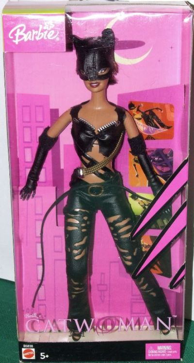 Barbie as the Hallie Berry Catwoman