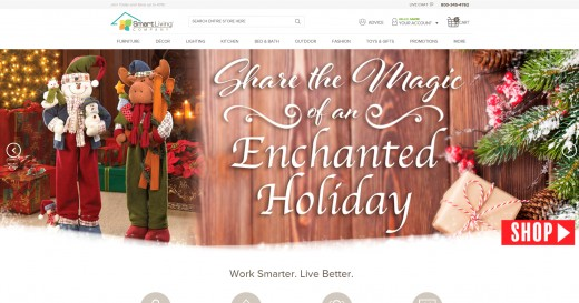 New Smart Living Company Home Page