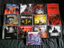 My Cheap Heavy Metal Haul from Perris Records