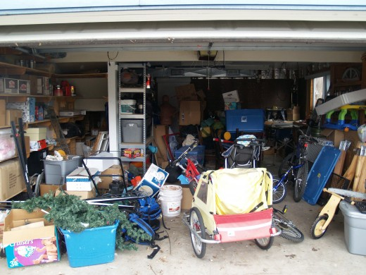 Your average American's garage looks about this bad.