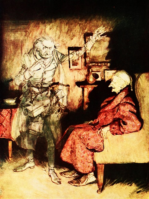 Artwork by Arthur Rackham.