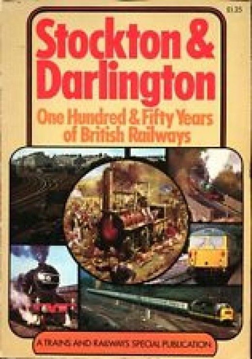 One of Peter Semmens' best known volumes, on celebrating the 150 years of the Stockton & Darlington Railway in 1975. This was an accompaniment of the Shildon pageant in September of that year