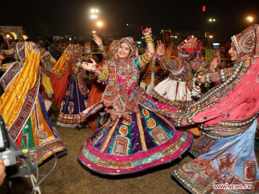 Garba Dance in Ahmedabad Gujarat