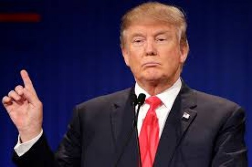 Real estate mogul Donald Trump was elected to be the President of the United States.