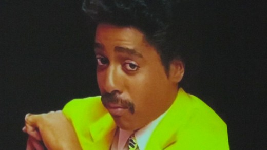 A memorable photo of Morris Day, from back in the day.