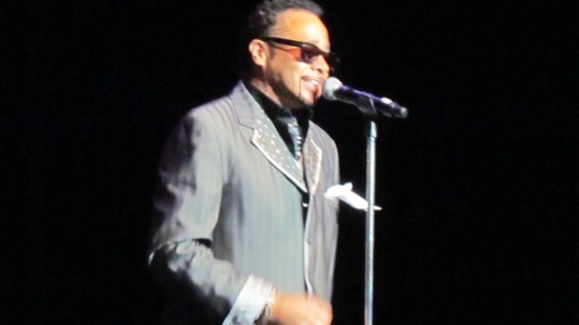 Morris Day, performed on stage with his band The Time. Their show was interesting until the last few songs which due to certain actions on stage with audience members made numerous people uncomfortable. Promoter Rick Coley, shut these actions down.