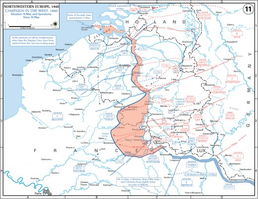 The Attack Begins May 10th 1940 Panzer Group von Kleist breaks through the French defenses at Sedan.