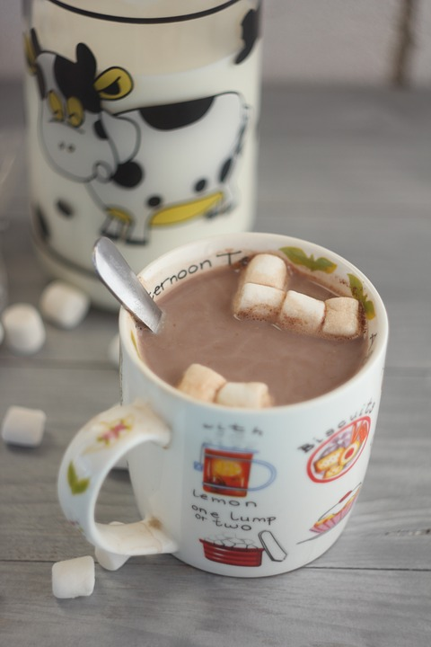 There is soy in most cocoa products.