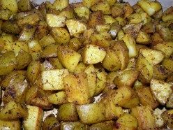 How To Make Baked Spiced Turmeric Potatoes, plus the Health Benefits of Turmeric