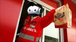 A robot taking orders at the drive thru is probably going to at least get my order right.