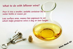 Wine Hack #1 - How to Keep Your Leftover Wine Fresh