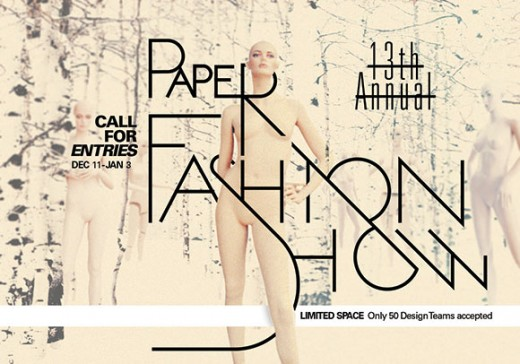 13th Annual Denver Paper Fashion Show