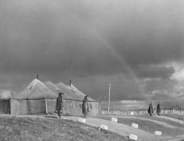 Panmunjom during peace negotiations, 1951.