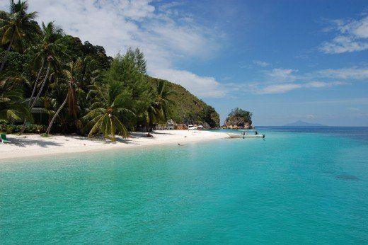 Rawa Island in Malaysia